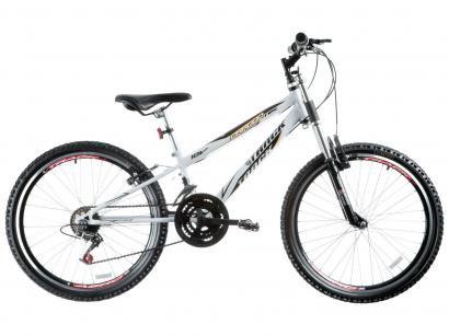 Bicicleta Track & Bikes Dragon Fire Aro 24 - 18 Marchas Suspensão Dianteira...