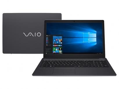 "Notebook Vaio Fit 15S Intel Core i5 8GB 1TB - 15,6"" Windows 10"