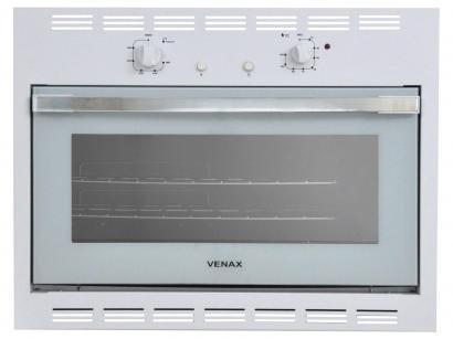 Forno de Embutir a Gás GLP Venax Bianco GII 18318 - 90L Grill Timer