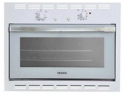 Forno de Embutir a Gás Natural Venax Bianco GII - 18278 50L Grill Timer