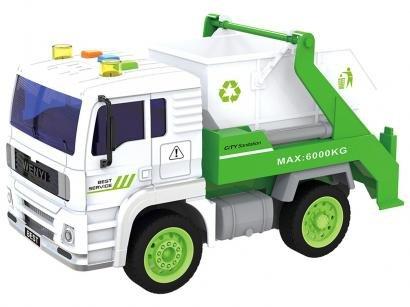 Caminhão de Entulho de Fricção 520B - Shiny Toys