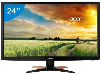 """Monitor Gamer Acer LED 3D 24"""" Full HD Widescreen - GN246HL"""