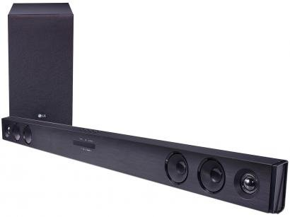 Soundbar LG SJ3 2.1 Canais 300W Bluetooth - Subwoofer USB