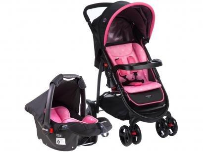 Carrinho de Bebê Passeio Cosco Nexus TS - Reclinável 3 Posições para Crianças...