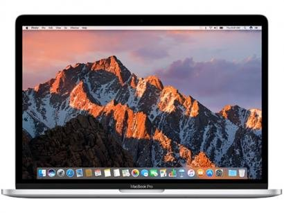 "MacBook Pro LED 13"" Apple MPXY2BZ/A Prata - Intel Core i5 8GB 512GB macOS Sierra"