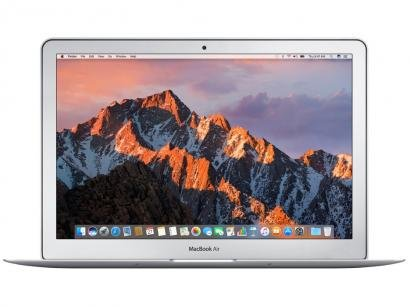 "MacBook Air LED 13"" Apple MQD42BZ/A Prata - Intel Core i5 8GB 256GB macOS Sierra"