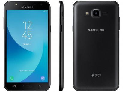Smartphone Samsung Galaxy J7 Neo 16GB Preto - Dual Chip 4G Câm 13MP + Selfie...