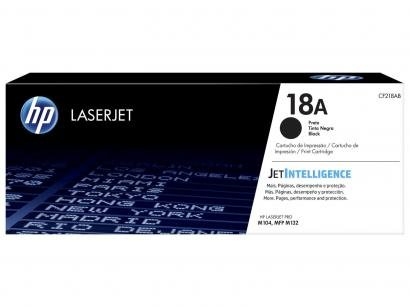 Cartucho de Tinta HP Preto 18A LaserJet Pro - Original