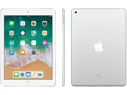 "iPad Apple 32GB Prata Tela 9,7"" Retina - Proc. Chip A9 Câm. 8MP + Frontal iOS..."