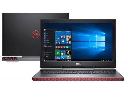 "Notebook Gamer Dell Inspiron i15-7567-A10P Intel - Core i5 8GB 1TB LED 15,6""..."