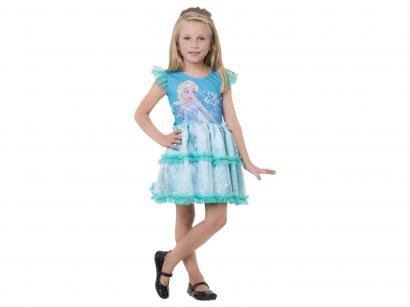 Fantasia Infantil Elsa Pop Tam. G - Rubie´s