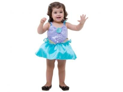 Fantasia Infantil Ariel Baby Tam. Único - Rubie´s