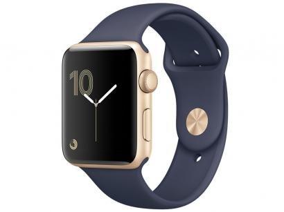 Apple Watch Series 1 38mm Alumínio - Azul Meia-Noite GPS Integrado