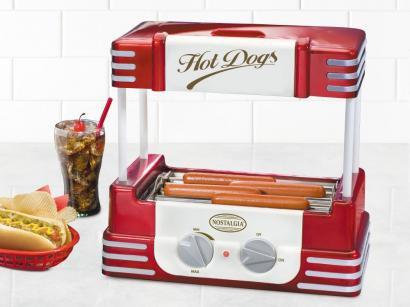 Maquina de Cachorro Quente RHD-800 Nostalgia - Hot Dog Roller Retrô