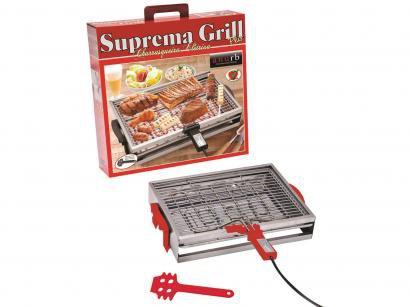 Churrasqueira Elétrica Anurb 1700W - Suprema Grill Plus