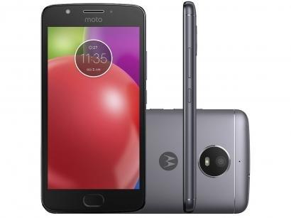 Smartphone Motorola Moto E4 16GB Titanium - Dual Chip 4G Câm. 8MP + Selfie 5MP...