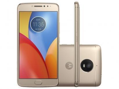 Smartphone Motorola Moto E4 Plus 16GB Ouro - Dual Chip 4G Câm. 13MP + Selfie...