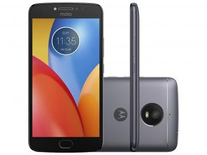 Smartphone Motorola Moto E4 Plus 16GB Titanium - Dual Chip 4G Câm. 13MP +...