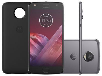 Smartphone Motorola Moto Z2 Play Power Edition - 64GB Platinum Dual Chip 4G...
