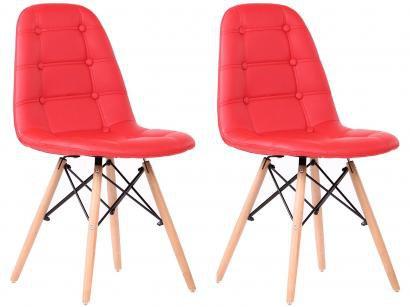Cadeira Decorativa 2 Peças - Inovakasa Eames Botone