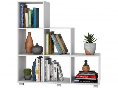 Estante para Livros 6 Nichos BRV Móveis - Bloc Cube