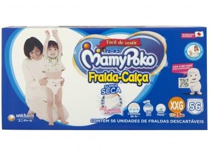 Fraldas Calça MamyPoko Tam. XXG 56 Unidades - Dupla Proteção