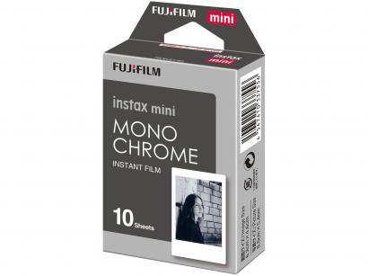 Filme Instantâneo Fujifilm Instax Mini Monochrome - com 10 Poses