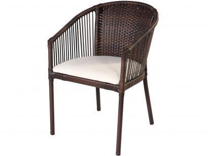 Conjunto de Mesa para Jardim com 4 Cadeiras - Alegro Móveis CJM004P302.0001