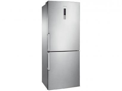 Geladeira/Refrigerador Samsung Inox Duplex 435L - Bottom Freezer RL4353JBASL/AZ