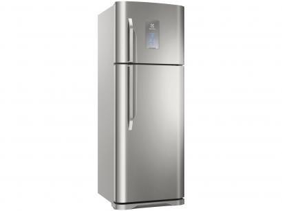 Geladeira/Refrigerador Electrolux Frost Free Inox - Duplex 463L Painel Blue...