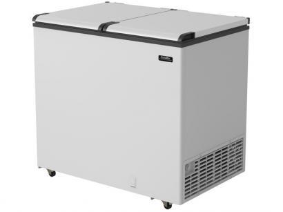 Freezer Horizontal 2 Portas Cegas Esmaltec 305L - EFH 350 SK EFAB