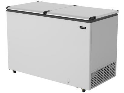 Freezer Horizontal 2 Portas Cegas Esmaltec 439L - EFH 500 SK EFAB