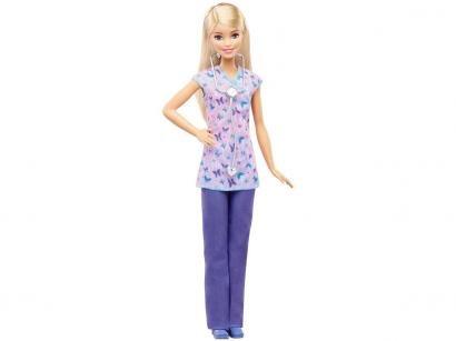 Barbie Profissões Nurse - com Acessórios Mattel