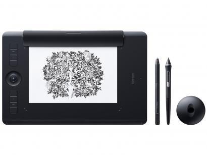 Mesa digitalizadora Wacom com Bluetooh Kit Paper - Intuos Pro Paper PTH660P...