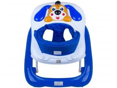 Andador para Bebê com Bandeja Musical - Baby Style Bichos Cachorro
