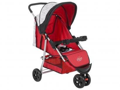 Carrinho de Bebê Passeio Baby Style Junne - Macaquinhos Reclinável para...