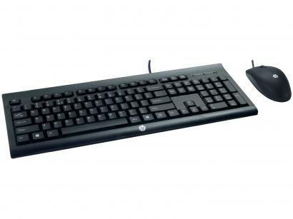 Kit Teclado e Mouse HP - C2500