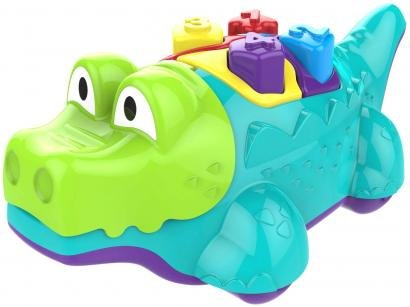 Brinquedos para Bebê Primeira Infância Jacaré - Magic Toys