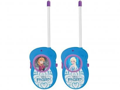 Walkie Talk Infantil Frozen Disney - Candide