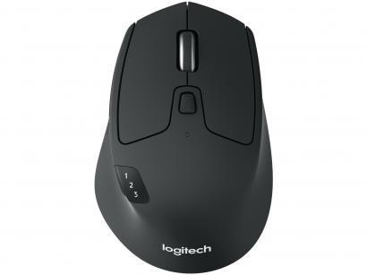 Mouse Sem Fio Óptico 1000 dpi Logitech - M720 Triathlon