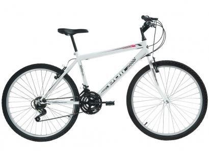 Bicicleta Polimet 7144 Aro 26 18 Marchas - Freio V-Brake