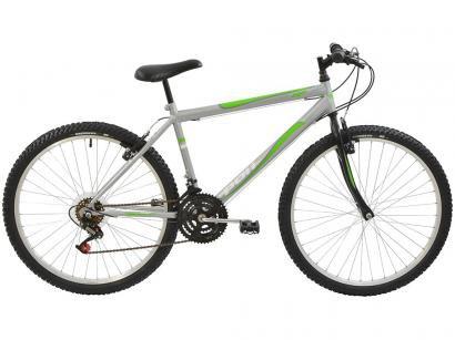 Bicicleta Polimet 7145 Aro 26 18 Marchas - Freio V-Brake