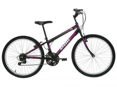 Bicicleta Polimet 7133 Aro 24 18 Marchas - Freio V-Brake