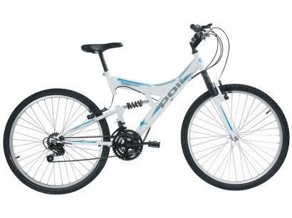 Bicicleta Polimet Kanguru Aro 26 - 18 Marchas Freio V-Brake