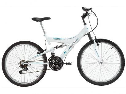 Bicicleta Polimet Kanguru Aro 24 18 Marchas - Freio V-Brake