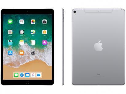 "iPad Pro Apple 4G 64GB Cinza Espacial Tela 10,5"" - Retina Proc. Chip A10X Câm...."