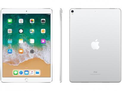 """iPad Pro Apple 256GB Prata Tela 10,5"""" - Retina Proc. Chip A10X Câm. 12MP +..."""
