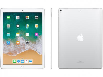 "iPad Pro Apple 64GB Prata Tela 12,9"" - Retina Proc. Chip A10X Câm. 12MP +..."