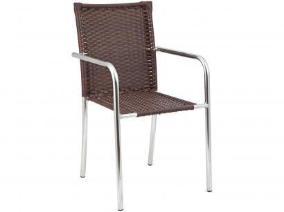 Cadeira para Jardim/Área Externa Alumínio - Alegro Móveis C315