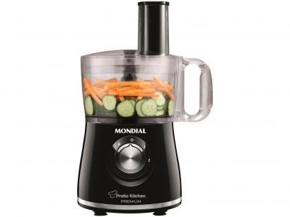 Multiprocessador Mondial Premium Pratic Kitchen - 2 Velocidades Pulsar 500W